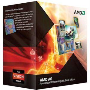 AMD FM1 A6 X4 3670K 2.7GHz 4.0MB