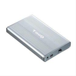 "CAJA EXTERNA 2.5"" SATA/IDE TOOQ PLATA USB 2.0"