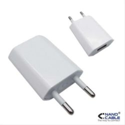 CARGADOR USB PARA IPOD/IPHONE NANOCABLE MINI