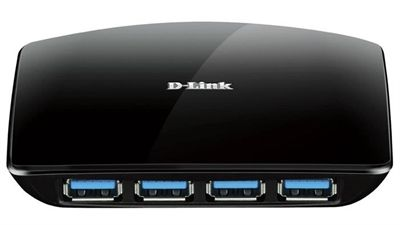 D-LINK TRADE 4 PORT SUPERSPEED USB 3.0 HUB  ·