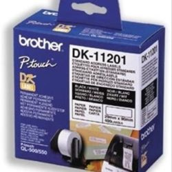 ETIQUETAS PRECORTADAS BROTHER 29x90mm 400ud