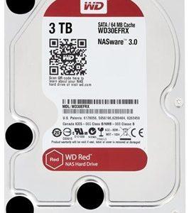 """HD 3.5"""" WESTERN DIGITAL 3TB SATA3 64MB E.RED"""