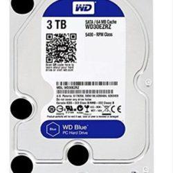 "HD 3.5"" WESTERN DIGITAL 3TB SATA 64MB BLUE"
