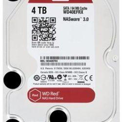 """HD 3.5"""" WESTERN DIGITAL 4TB SATA 3 64MB RED"""