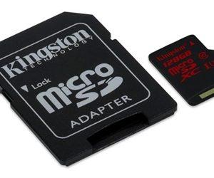 MEMORIA MICRO SDXC 128GB UHS-I U3 90MB KINGSTON
