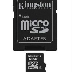 MEMORIA MICRO SD 16GB CLASE 4 KINGSTON