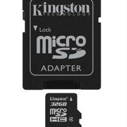 MEMORIA MICRO SD 32GB CLASE 4 KINGSTON