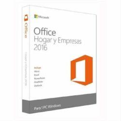 OFFICE HOGAR Y EMPRESAS 2016 1 LIC