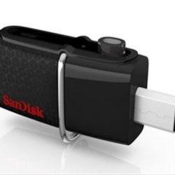 PEN DRIVE 64GB SANDISK DUAL USB / MicroUSB 3.0