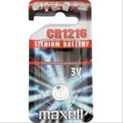 PILA MAXELL CR1216 3V LITHIUM BATTERY
