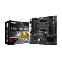 PLACA AM4 MSI B350M PRO-VDH DDR4 (S.AM4)