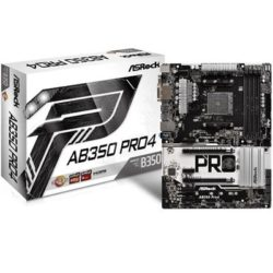 PLACA AMD ASROCK AM4 AB350-PRO 4  DDR4