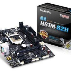 PLACA i3/i5/i7 GIGABYTE H81M-S2H(S.1150) DDR3