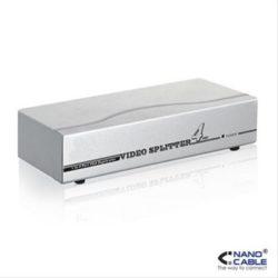 SPLITTER VGA 4 PUERTOS 250MHz NANOCABLE