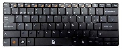 TECLADO SLIM MINI WIRELESS PRIMUX T2 NEGRO