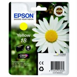 CARTUCHO TINTA EPSON 18 YELLOW