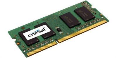MODULO SODIMM DDR3L 8GB 1600MHZ CRUCIAL