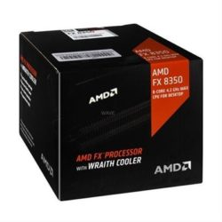 AMD FX-8350 4.0GHZ 8CORE W/WRAITH COOLER·