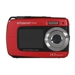 CAMARA DIGITAL POLAROID IF045 14MP 4x SUMERGIBLE ROJA