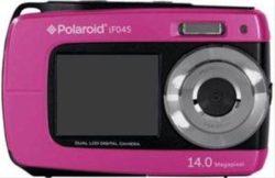 "CAMARA DIGITAL POLAROID IF045 14MP 4x LCD 1.8"" SUMERGIBLE ROSA"