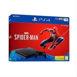 CONSOLA PS4 1TB BLACK + JUEGO SPIDER-MAN