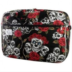 E-VITTA STYLE LAPTOP BAG 16  SKULLS·