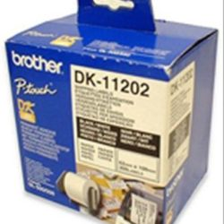 ETIQUETA PRECORTADA BROTHER PAPEL 62x100mm