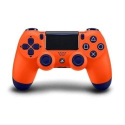 GAMEPAD SONY PS4 DUALSHOCK NARANJA V2·