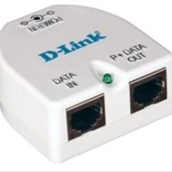 INJECTOR POE GIGABIT 1-PORT D-LINK 48VDC 19.2W