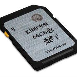 KINGSTON FLASH CARD/SDXC CLASS 10 64GB·