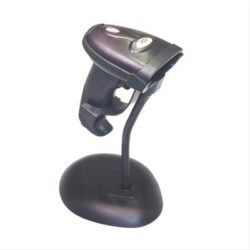 LECTOR CODIGO 10POS 1D BLACK INC. STAND+CABLE
