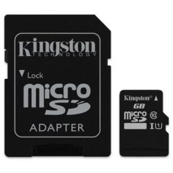 MEMORIA MICRO SD 32GB CLASE 10 SDHC KINGSTON