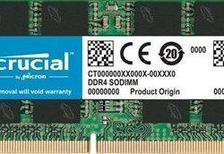 MODULO SODIMM DDR4 8GB 2400 MHZ CRUCIAL CL17
