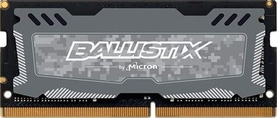 MODULO SODIMM DDR4 8GB 2666MHZ  PC4-21300 CRUCIAL