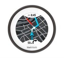 NAVEGADOR GPS TOMTOM VIO NEGRO PARA SCOOTER DESPRECINTADO