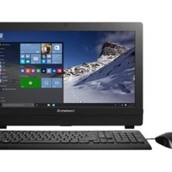"PC AIO LENOVO S200Z J3710 4GB 500HD 19.5"" NEGRO TEC+RAT"