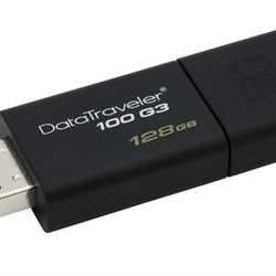 PEN DRIVE 128GB KINGSTON DT100G3 USB3.0
