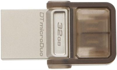 PEN DRIVE 32GB KINGSTON MICRODUO DTDUO USB3.0