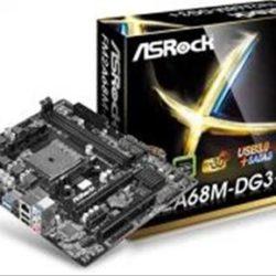 PLACA AMD FM2 ASROCK FM2A68M-DG3+