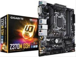 PLACA i3/i5/i7 GIGABYTE Z370M-D3H DDR4 S.1151 Gen8-DESPRECINTADOS