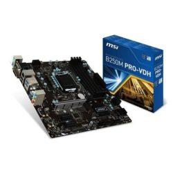 PLACA i3/i5/i7 MSI B250M PRO-VDH (S.1151) USB C 3.0