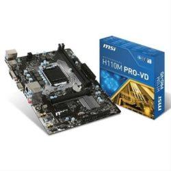 PLACA i3/i5/i7 MSI H110M PRO-VD (S.1151) DDR4