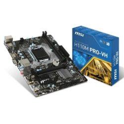 PLACA i3/i5/i7 MSI H110M PRO-VH LGA1151 DDR4 DESPRECINTADO