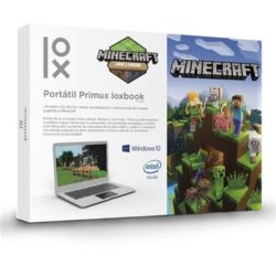"PORTATIL PRIMUX IOXBOOK 1402MC N3350 4GB 32GB W10 14.1"" MINECRAFT (SSD M.2 2242 y 2280)"