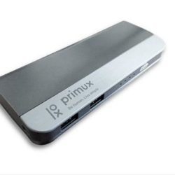 POWER BANK PORTATIL PRIMUX 10000mAh METALICO