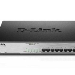 SWITCH 8 PUERTOS D-LINK GIGABIT POE
