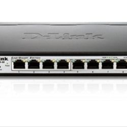 SWITCH GIGABIT 8 PUERTOS EASYSMART D-LINK