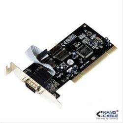 TARJETA PCI SERIE DB9 1xPUERTO/ M NANOCABLE