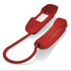 TELÉFONO DE SOBREMESA GIGASET DA210 ROJO·