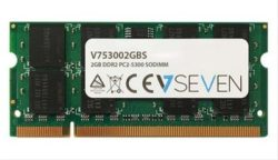 V7 2GB DDR2 667MHZ CL5            SO DIMM PC·